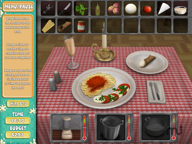 Screenshot 1 for Cooking Quest