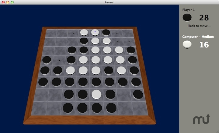 Screenshot 1 for Muryan Reversi