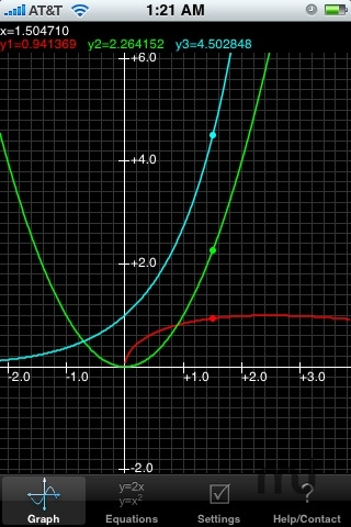 Screenshot 1 for Graphing Calculator