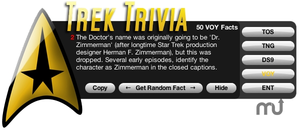 Screenshot 1 for Trek Trivia