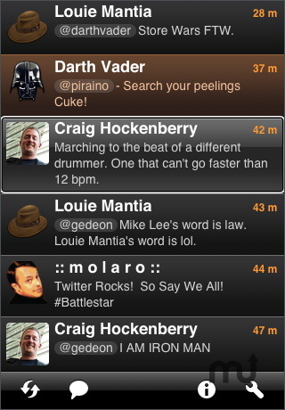 Screenshot 1 for Twitterrific for iPhone