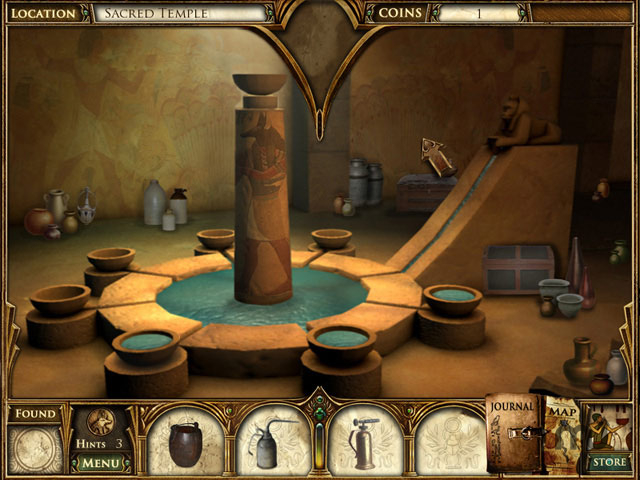 Screenshot 1 for Curse of the Pharaoh: The Quest for Nefertiti