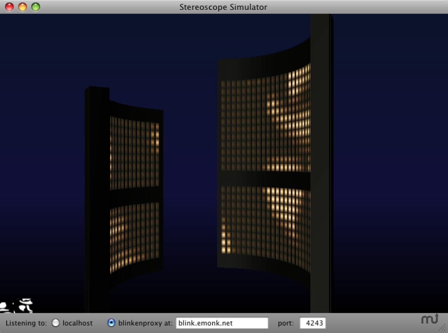 Screenshot 1 for Stereoscope 3D Simulator