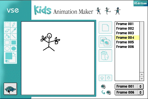Screenshot 1 for Kids Animation Maker iEdition
