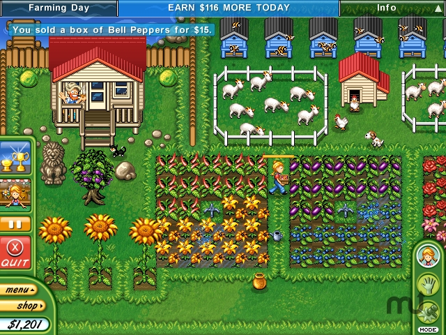 Screenshot 1 for Alice Greenfingers 2