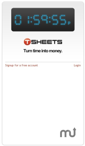Screenshot 1 for TSheets Time Tracker