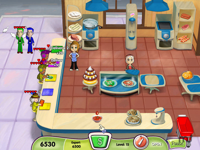 Screenshot 1 for Cooking Dash