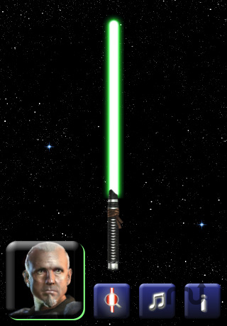 Screenshot 1 for Lightsaber Unleashed