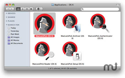 Screenshot 1 for MacLockPick