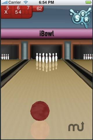 Screenshot 1 for iBowl