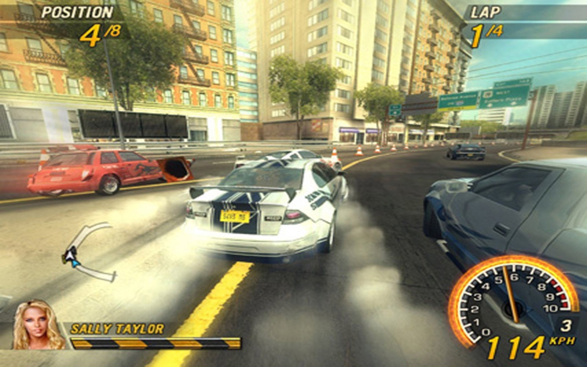 Screenshot 1 for FlatOut 2