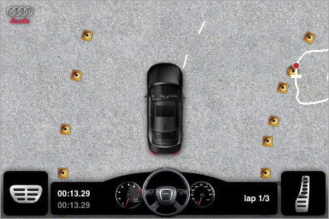 Screenshot 1 for Audi A4 Driving Challenge