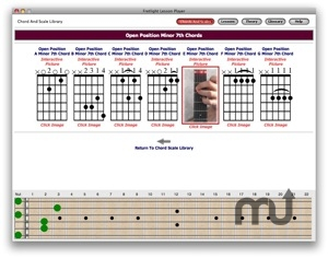 Screenshot 1 for Fretlight Lesson Player
