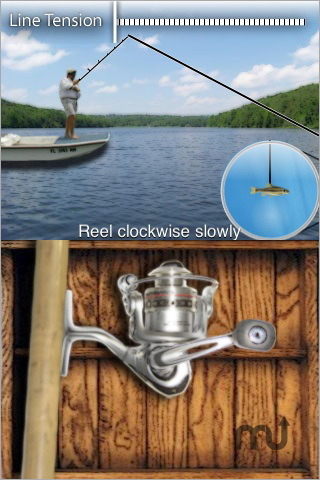 Screenshot 1 for Hooked: Pocket Fishing