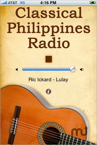 Screenshot 1 for Classical Philippines Radio