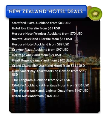 Screenshot 1 for New Zealand Hotel Deals