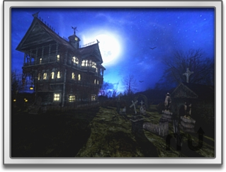 Screenshot 1 for Spooky Mansion Screen Saver