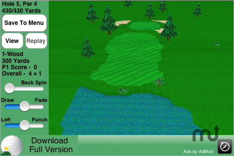 Screenshot 1 for GL Golf Lite