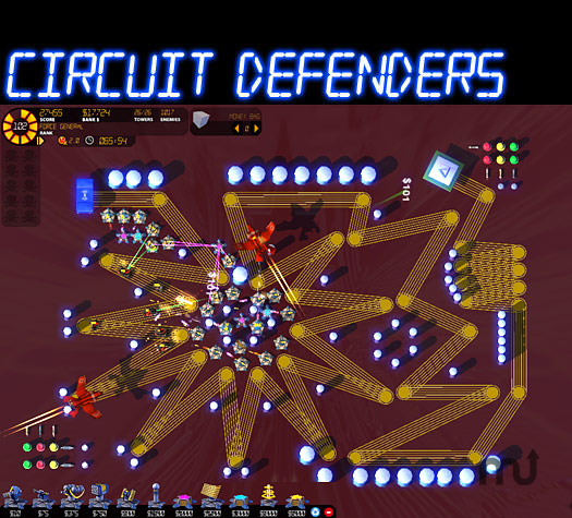 Screenshot 1 for Circuit Defenders