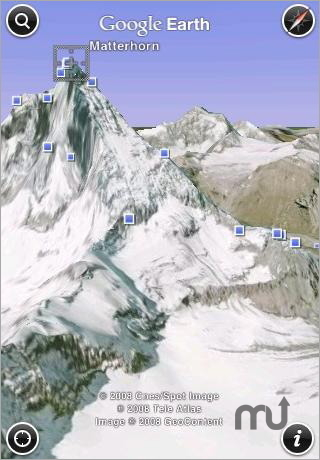 Screenshot 1 for Google Earth for iPhone