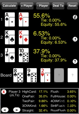 Screenshot 1 for PokerCruncher-iPhone