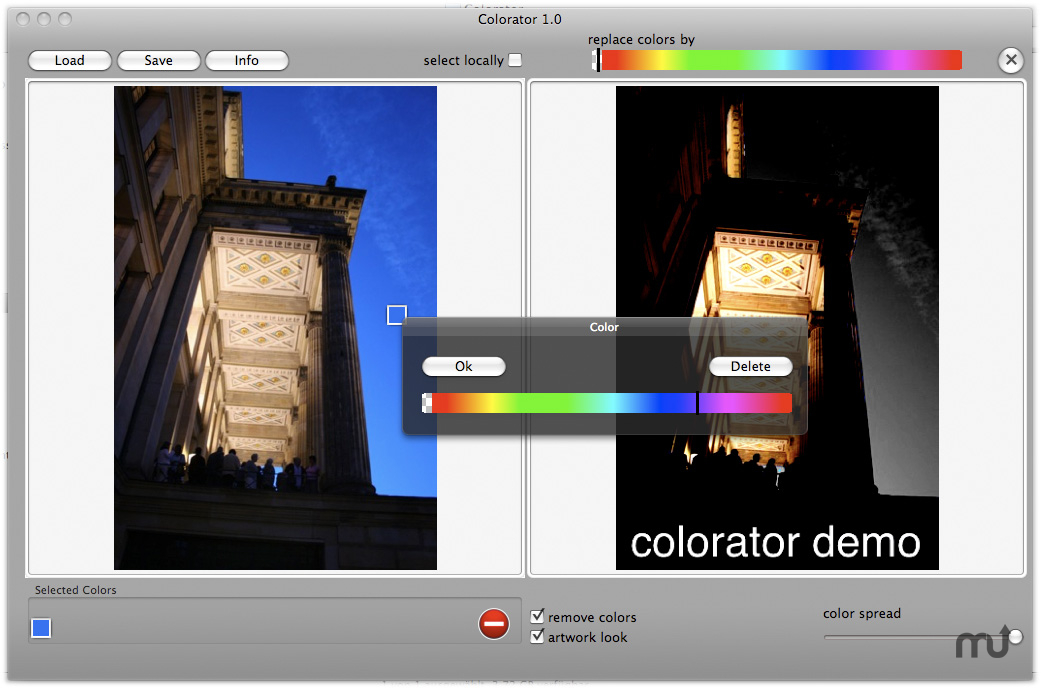 Screenshot 1 for Colorator