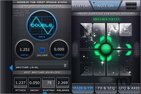 Screenshot 1 for Noise.io Pro Synth