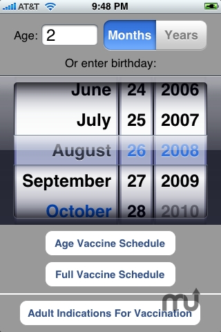 Screenshot 1 for Vaccines