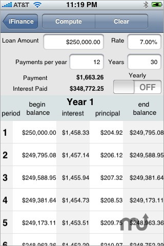 Screenshot 1 for Financial Toolkit Pro