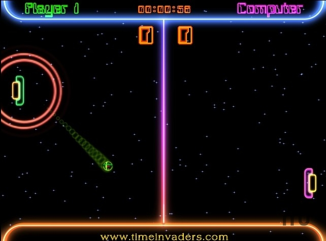 Screenshot 1 for Space Ping Pong Match