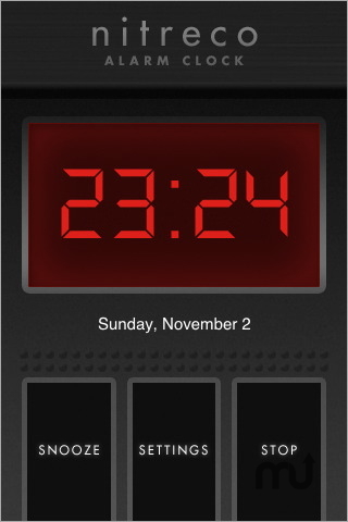 Screenshot 1 for Nitreco - Alarm Clock