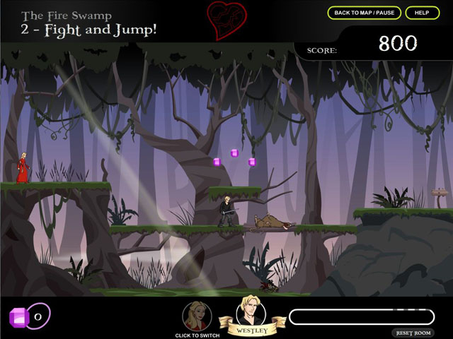 Screenshot 1 for The Princess Bride Game
