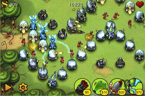 Screenshot 1 for Fieldrunners