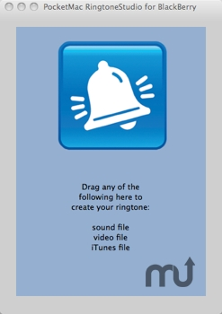 Screenshot 1 for PocketMac RingtoneStudio for BlackBerry