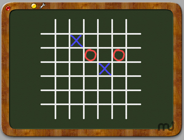 Screenshot 1 for GiantCrayon TicTacToe