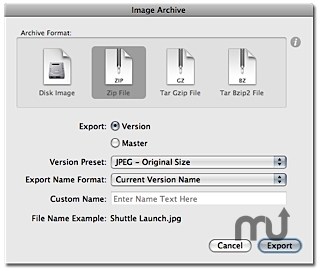 Screenshot 1 for ImageArchiver for iPhoto