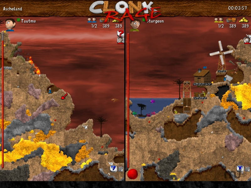 Screenshot 1 for Clonk Rage