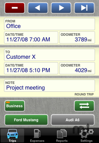Screenshot 1 for Drivers Log