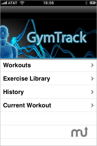 Screenshot 1 for GymTrack