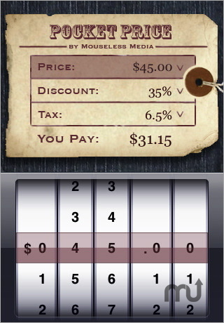 Screenshot 1 for Pocket Price