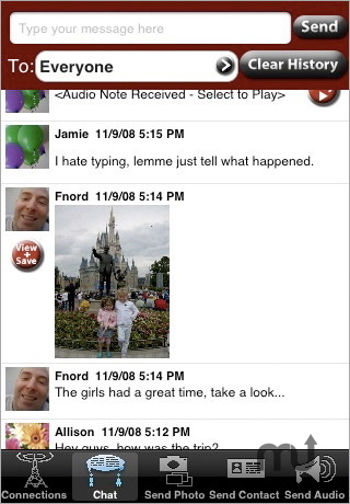Screenshot 1 for LocalChat