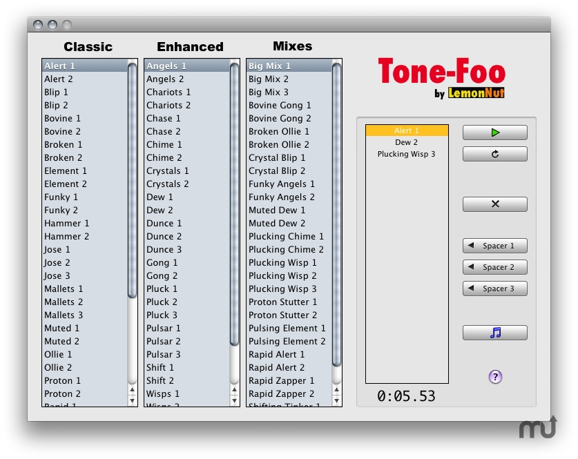 Screenshot 1 for Tone-Foo