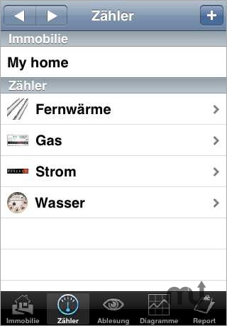 Screenshot 1 for HomeMeter