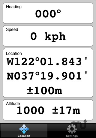 Screenshot 1 for GPS