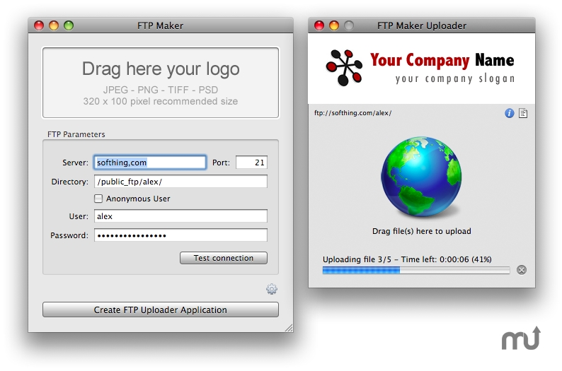 Screenshot 1 for FTP Maker