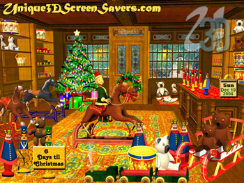Screenshot 1 for 3D Magic Christmas Toy Shop
