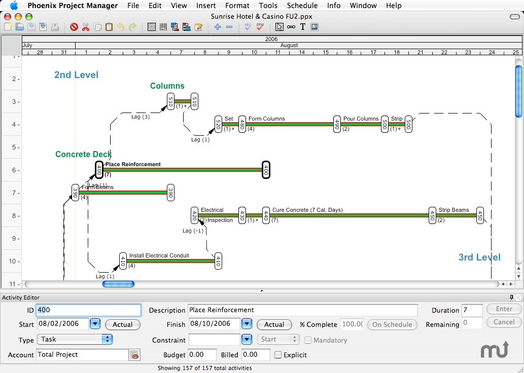 Screenshot 1 for Phoenix Project Manager