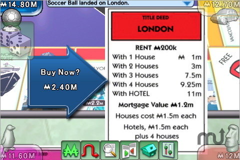 Screenshot 1 for MONOPOLY Here & Now: The World Edition