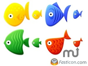 Screenshot 1 for Fish Toys Icons