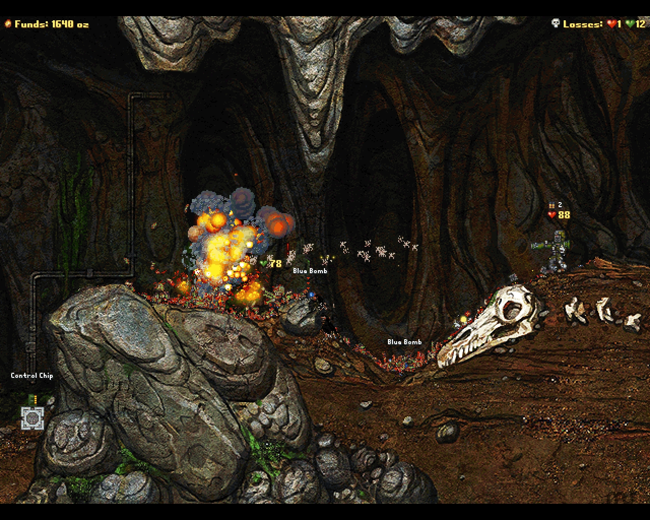 Screenshot 1 for Cortex Command